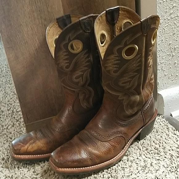 f65617477dc {Ariat} Men's Heritage RoughStock Boots